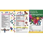 Spanish Kindergarten Progress Report Card